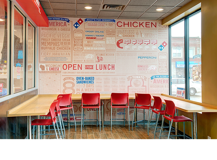 Dominoes Pizza takes advantage of new