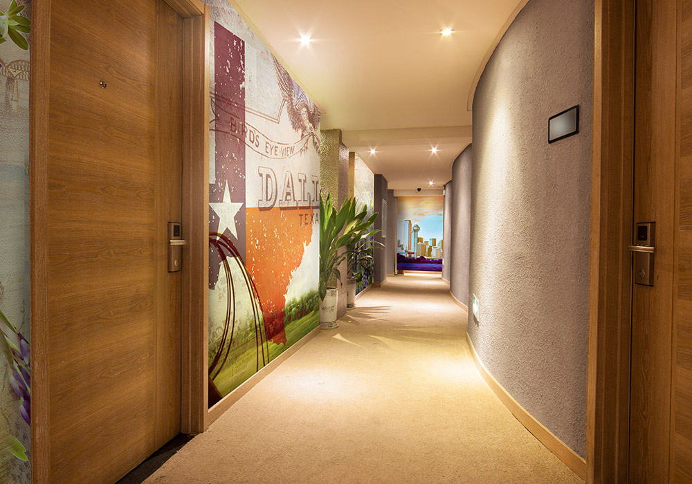 Hotel Imagitect Wall Protection Graphics